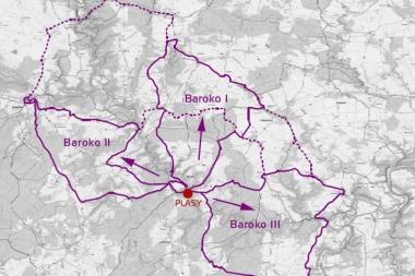 Barokní cyklotrasy na severním Plzeňsku